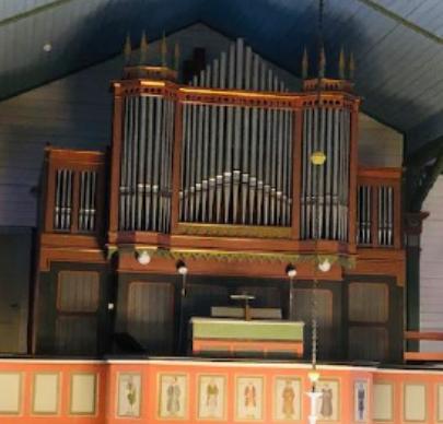 Orgelet i Røsvik kirke