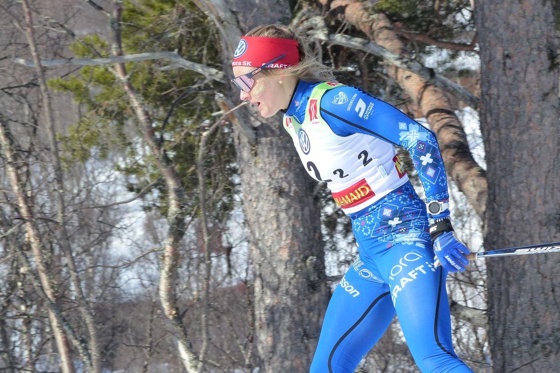Stina Nilsson byter till skidskytte. Det var dagens överraskade besked från Stina. FOTO: Johan Trygg/Längd.se.