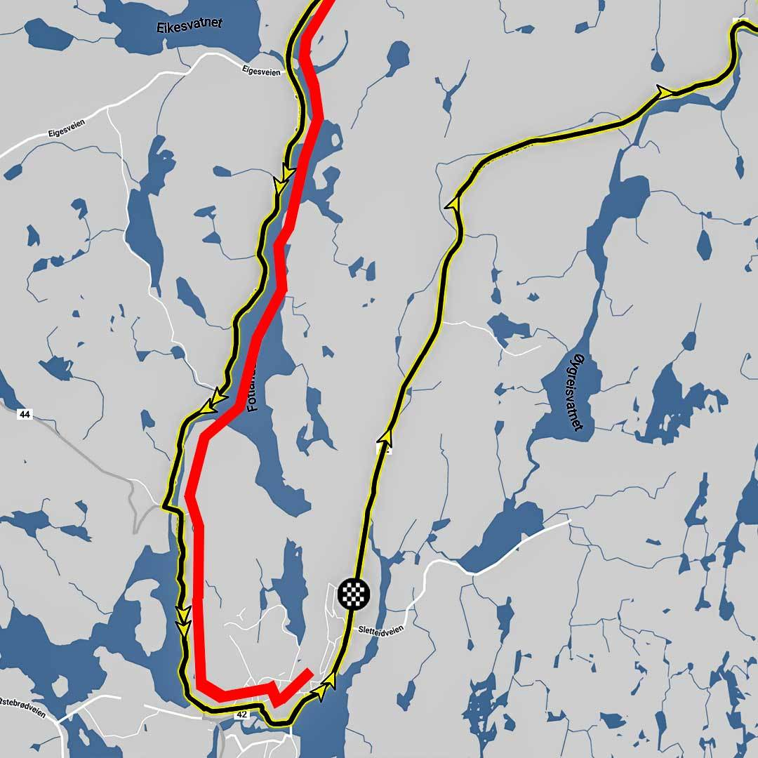 Tour of Norway løype 1