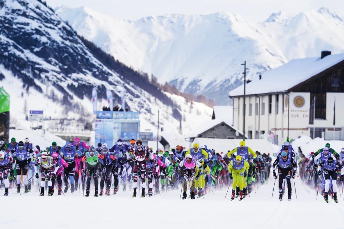 Söndag 12 maj sänds ett sammandrag från vinterns tävlingar i Visma Ski Classics på Kanal 9. FOTO: Visma Ski Classics.