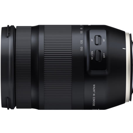 Tamron 35-150mm sideview