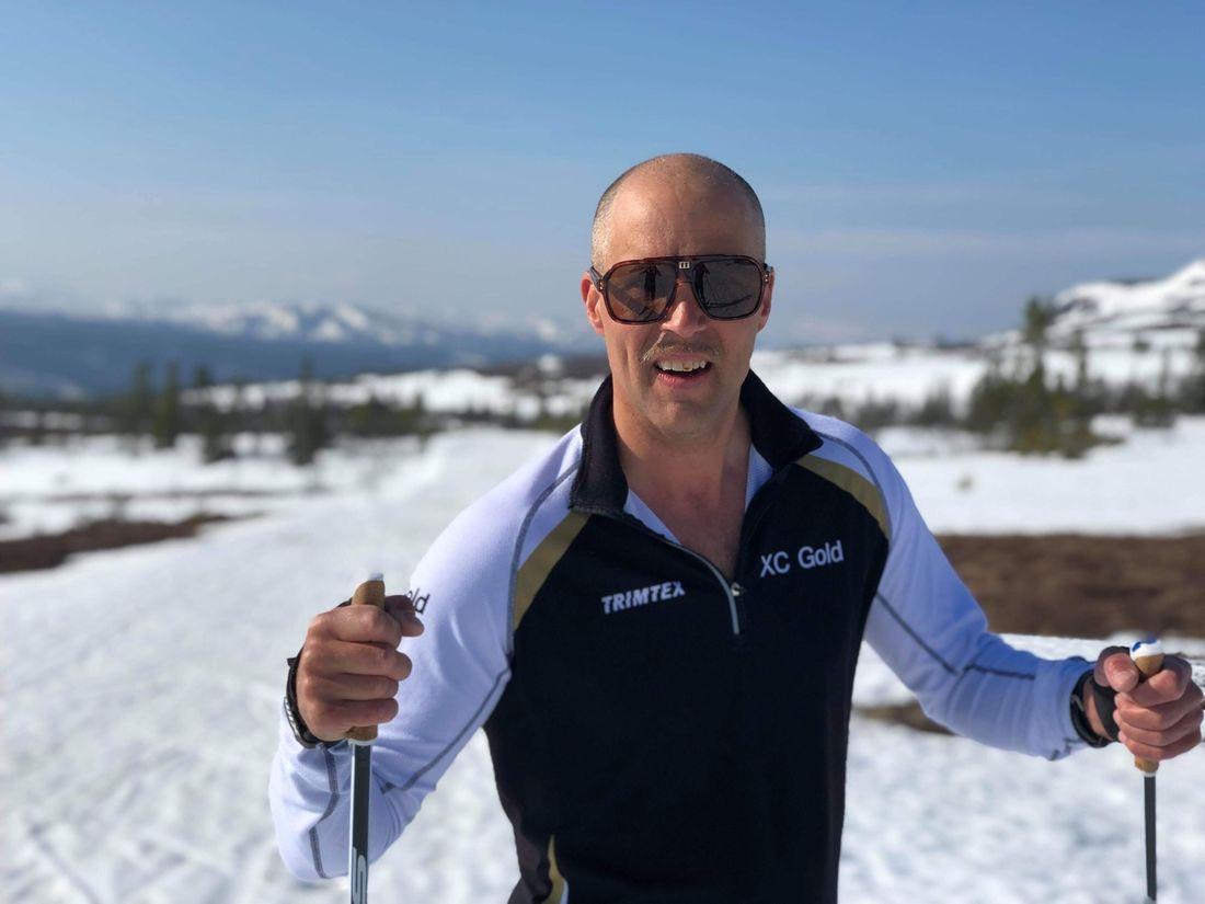 Årebon Daniel Matthias har fastnat för längdåkning på äldre dar. Nu är han en del av Team XC Gold och siktar på topp 500 på Vasaloppet om tre år.
