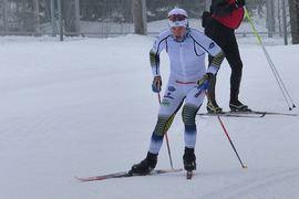 Leo Johansson tar steget från Skillingsryds SK till Falun Borlänge SK inför sin första seniorsäsong. FOTO: Johan Trygg/Längd.se.