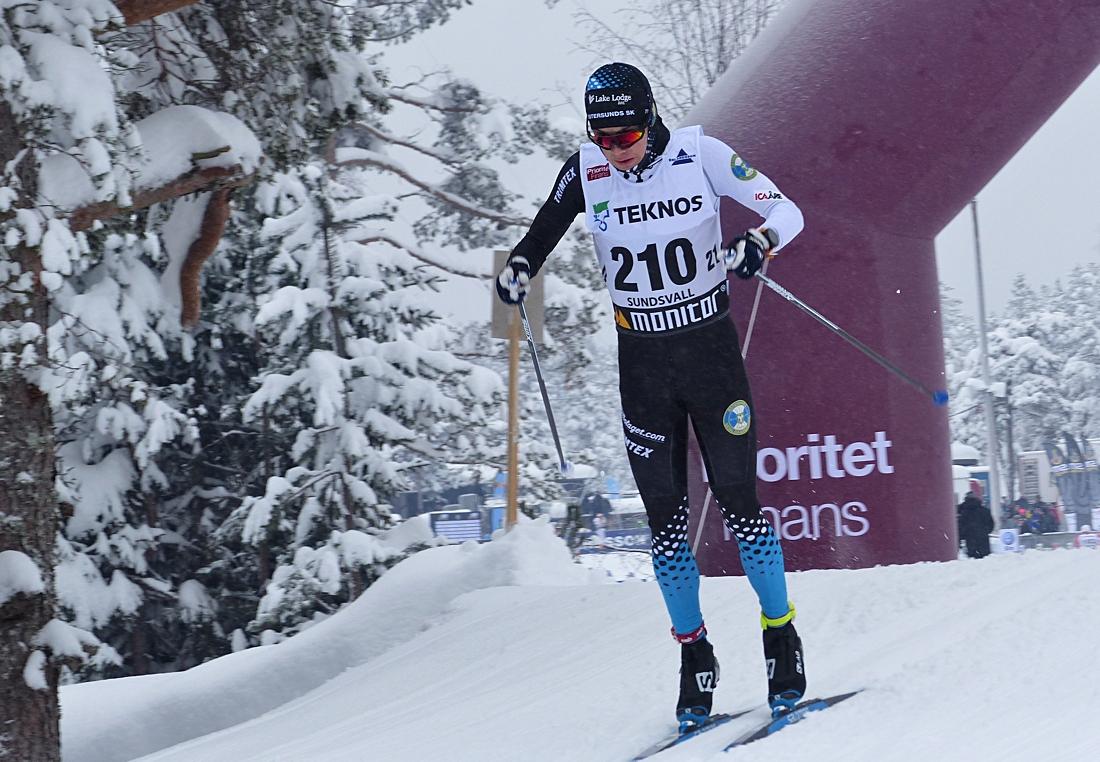Petter Engdahl byter Östersunds SK mot Falun Borlänge SK. FOTO: Johan Trygg/Längd.se.