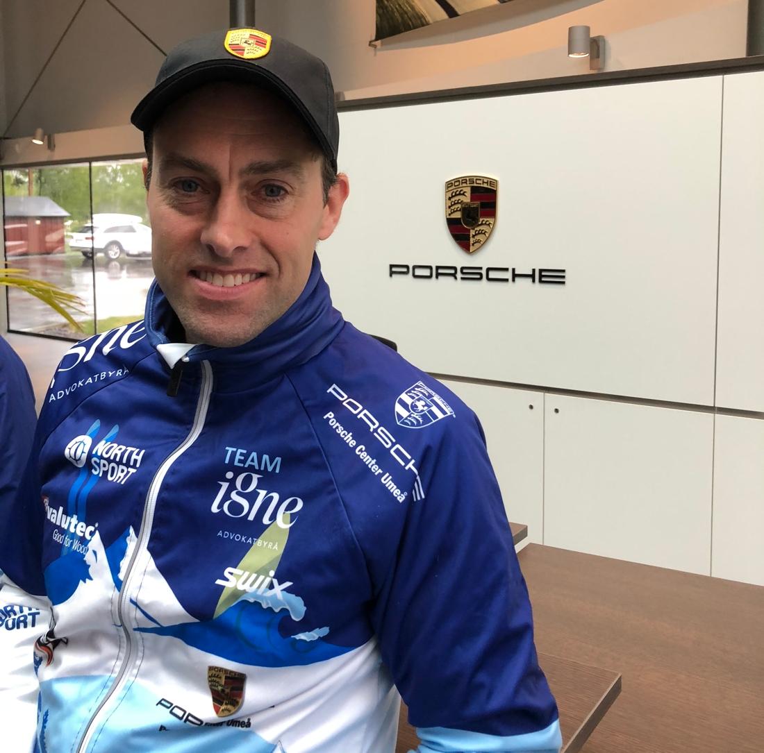 Jörgen Brink kommer att dela med sig av sin erfarenhet till åkarna i Team Igne. FOTO: Porsche Center.