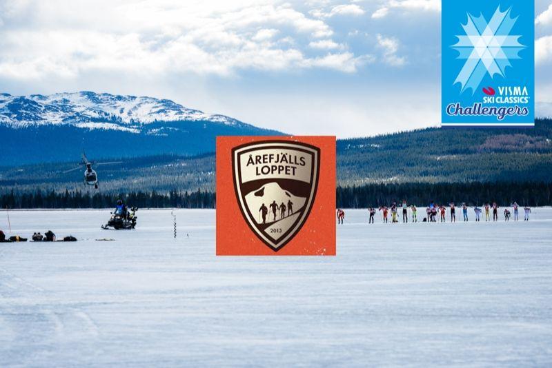 Årefjällsloppet är tillbaka i Visma Ski Classic-familjen som Challenger-event. FOTO: Visma Ski Classics.
