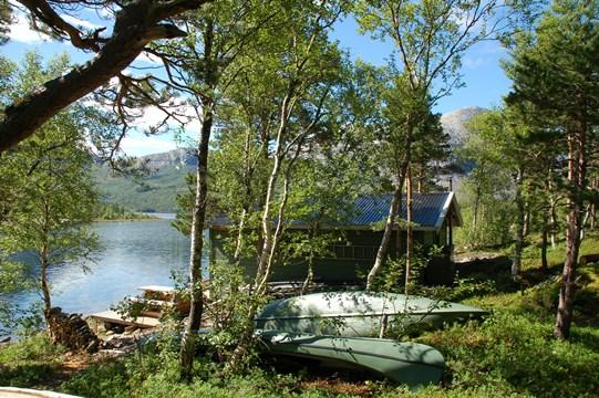 Kanoer ved Røyrvatnet
