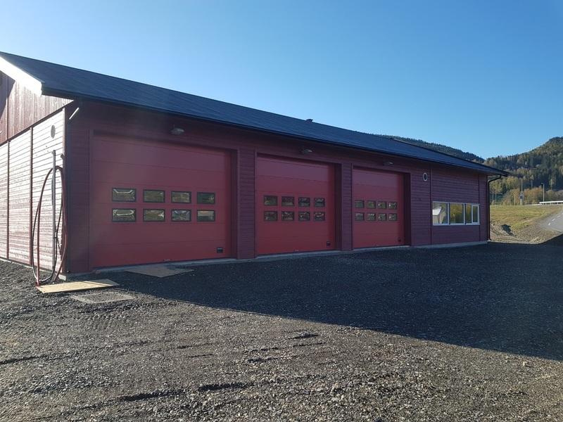 Bilde av Tretten brannstasjon