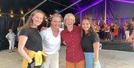 Gunhild, Sigrid Moldestad, Linda Eide og Ine