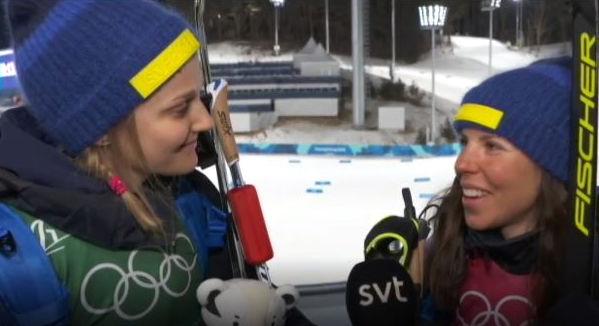 Stina Nilsson och Charlotte Kalla kan konstatera att det inte blir något vinter-OS i Sverige 2026.