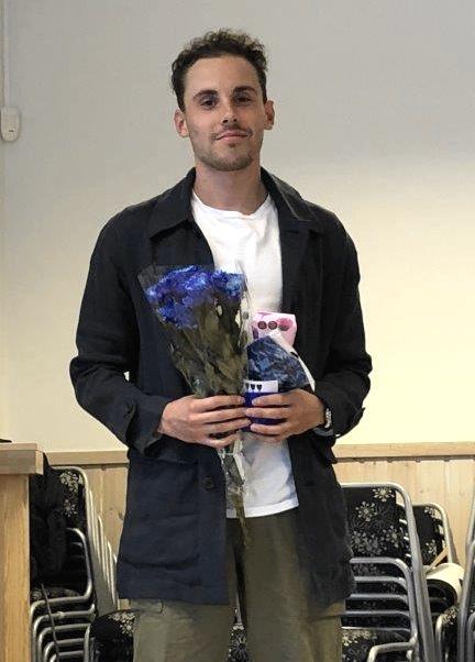 Rasmus Hörnfeldt fick utmärkelsen årets herrsenior.