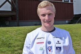 Jens Burman är optimistisk och ser fram emot vintern efter vårens ryggoperation. FOTO: Johan Trygg/Längd.se.