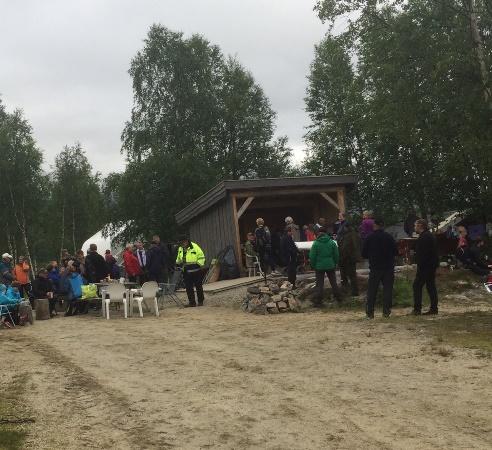 Grillfest ved Kobbvatn