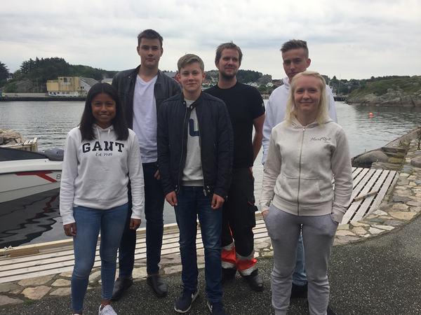Medseilere fra Eigersund i Tall ships races 2019