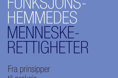 Omslagsbilde til boken Funksjonshemmedes menneskerettigheter