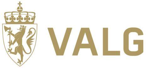 Valg logo, justert