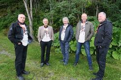 Arnfinn, Leon, Rolf, Ståle og Anders R