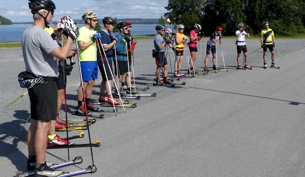 Längd.se besökte Team XC Gold:s läger i Östersund i helgen. FOTO: Johan Trygg/Längd.se.