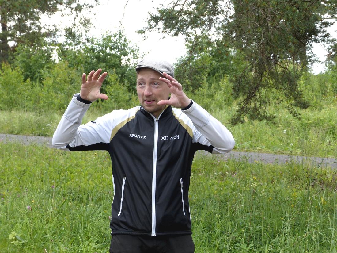 Andreas Hubbe Lund gav inspiration och insikter. FOTO: Johan Trygg/Längd.se.
