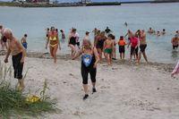 Barneløp, sykkelløp og bading