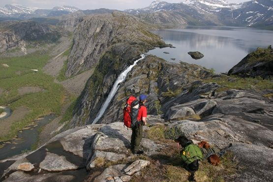 Litjverivassfossen, foto Jim T Kristensen