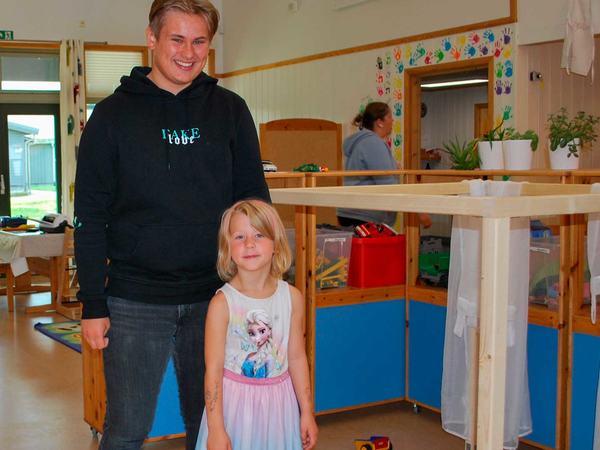 Lærling på Slettebø barnehage