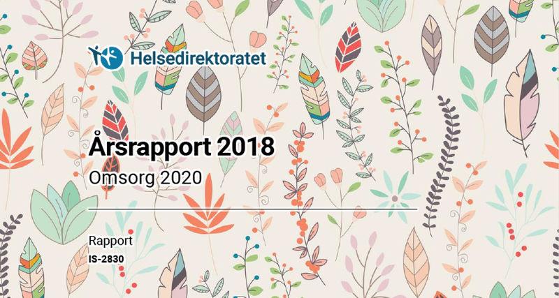 Ingressbilde til artikkelen om årsrapporten 2018 for Omsorg 2020