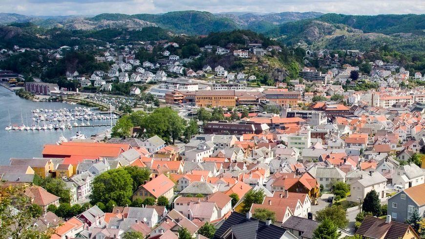 Sentrum fra Varberg