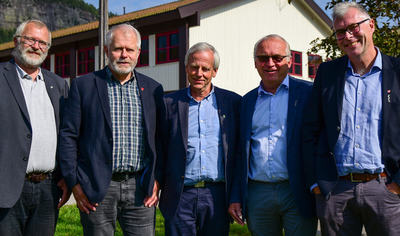 Ordførere med Åseral