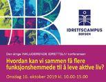 Faksimile av forsiden til inkluderende idrettsliv konferansen 2019