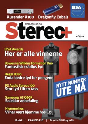 Stereopluss 2019-6 Forside nytt nummer
