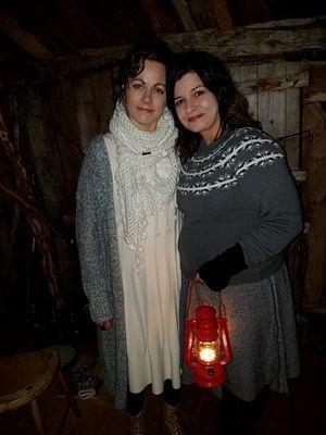Maria Piel og Eirin Edvardsen