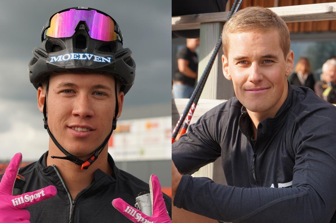 Emil Persson och Andreas Holmberg kommer till Skoklosterrullen. FOTO: Lager 157 Ski Team.