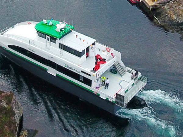 Bilde av bybåten