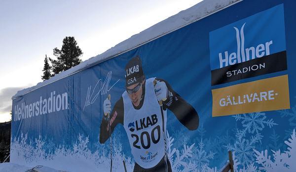 Gellivare skidallians kommer att arrangera JSM 2021 på Hellnerstadion. FOTO: Johan Trygg/Längd.se.