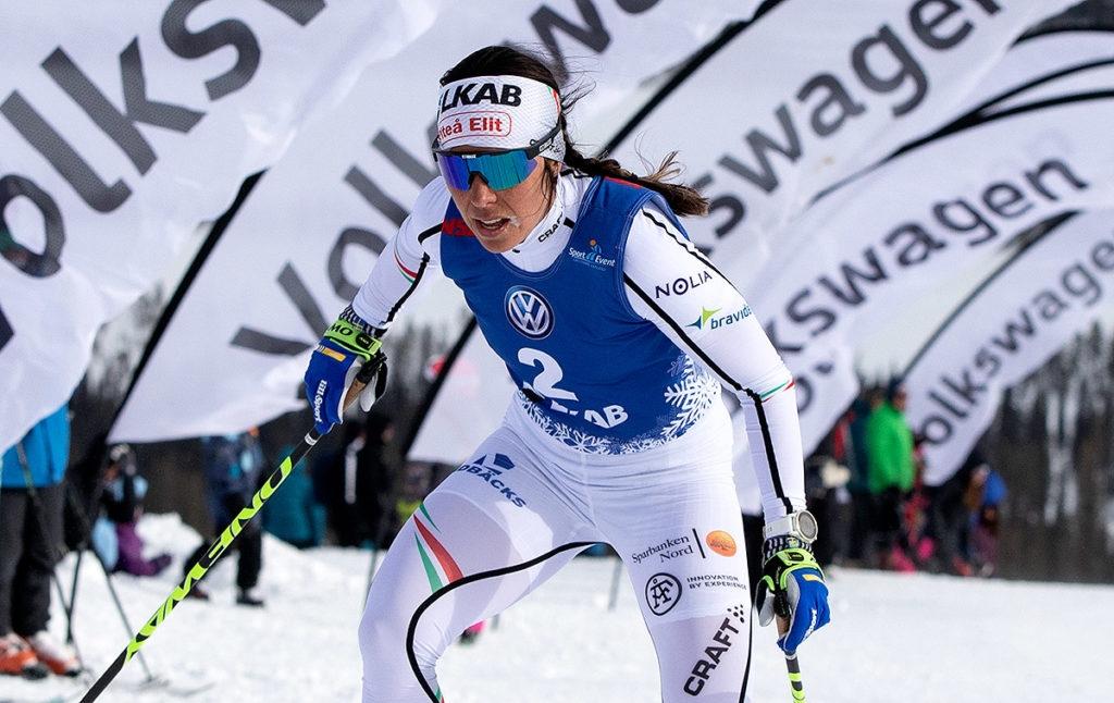 Det blir intressant att se Charlotte Kallas form vid säsongspremiären i Gällivare. FOTO: Michael Renström.