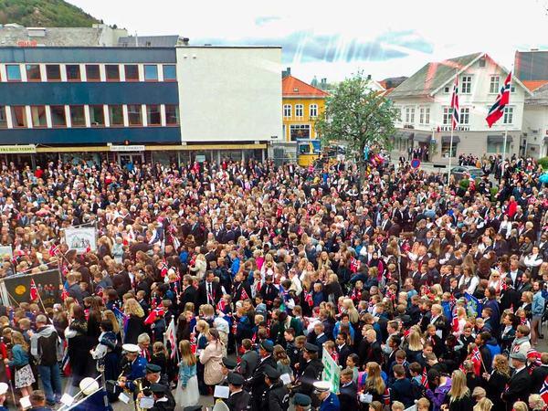 17. mai i Egersund sentrum