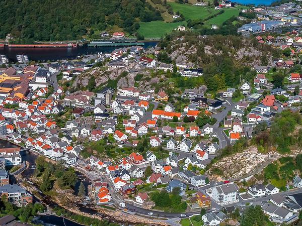 Boligtomter nær Egersund sentrum
