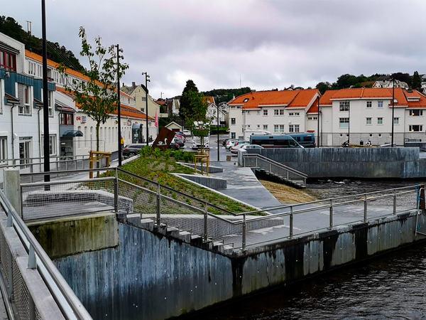Lokalene til Eigersund voksenopplæringssenter