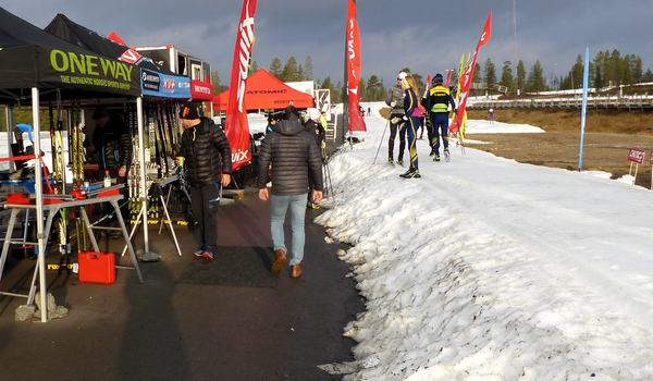 18-20 oktober är det dags för Skistarts testhelg på Idre Fjäll. Så här såg det ut i fjol. FOTO: Johan Trygg/Längd.se.
