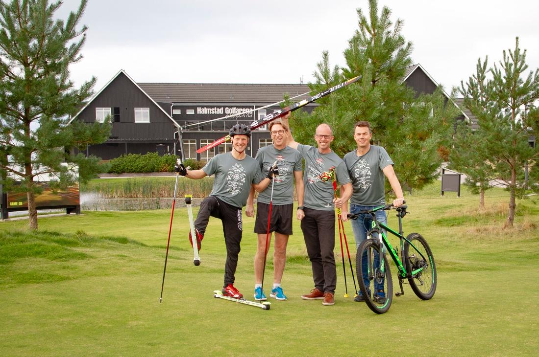 På Halmstad Golfarena gläds man åt att nu vara Officiellt Vasaloppscenter för skidor, löpning och cykel. FOTO: Halmstad Golfarena.