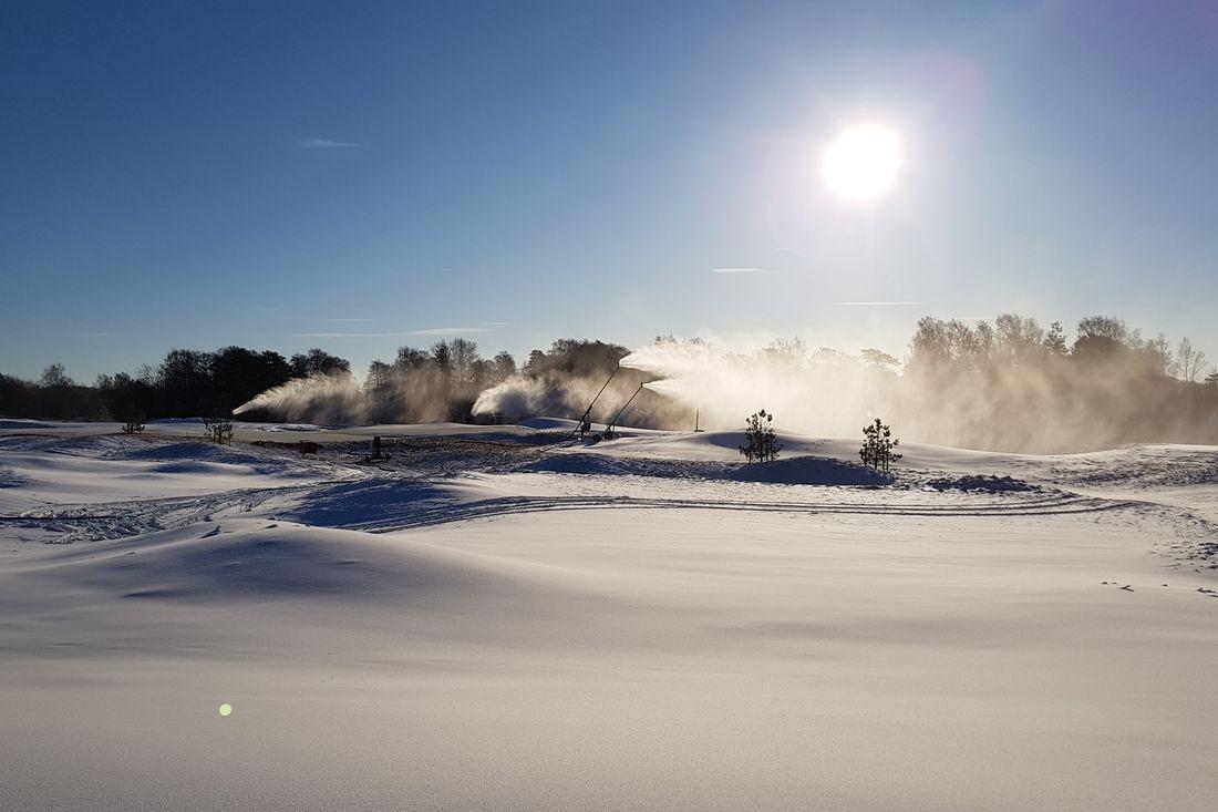 Halmstad Golfarena blir nu Sveriges sydligaste officiella Vasaloppscenter. FOTO: Halmstad Golfarena.