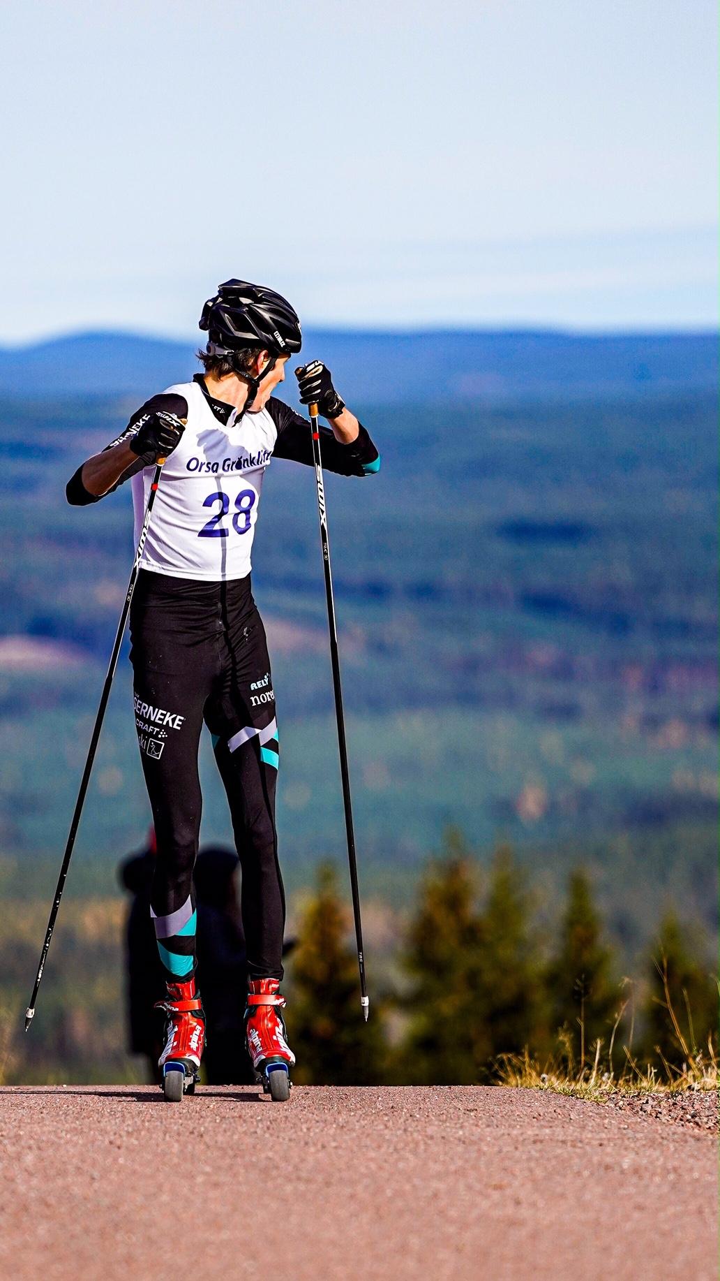 Pontus Nordström vänder sig om och konstaterar att segern är i hamn. FOTO: TW Media.