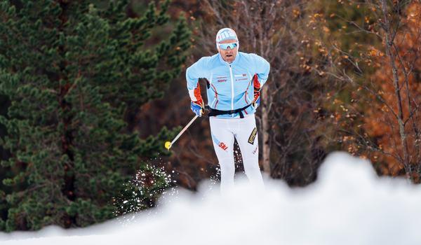 Det är 11 oktober och Idre Fjäll öppnade idag 2,5 kilometer spår och bjöd på fina förhållanden. FOTO: Idre Fjäll.