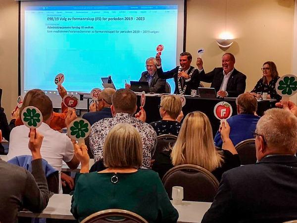 Kommunestyret oktober 2019