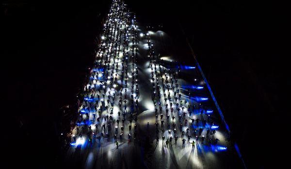 Från och med i vinter kommer Nattvasan ingå i Vasaloppstrippeln samt också ingå som medaljår precis som Vasaloppet och Öppet spår. FOTO: Vasaloppet.