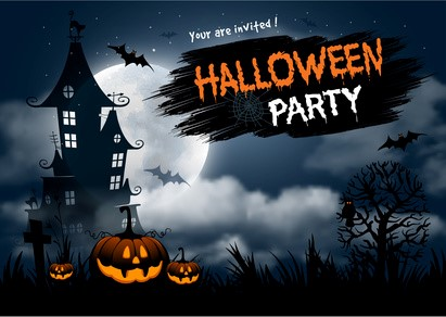 Plakat Halloweenparty