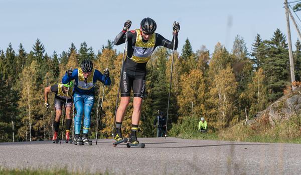 Johan Ekberg vann Gålörullen före Jonathan Hedbys och Robert Brundin. FOTO: Andreas Karlsson.