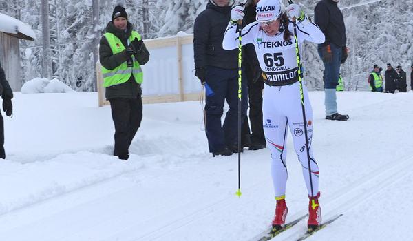 Piteå Elit, med fixstjärnan Charlotte Kalla, beskriver i ett pressmeddelande vad som ligger bakom föreningens position i skidsverige. FOTO: Johan Trygg/Längd.se.