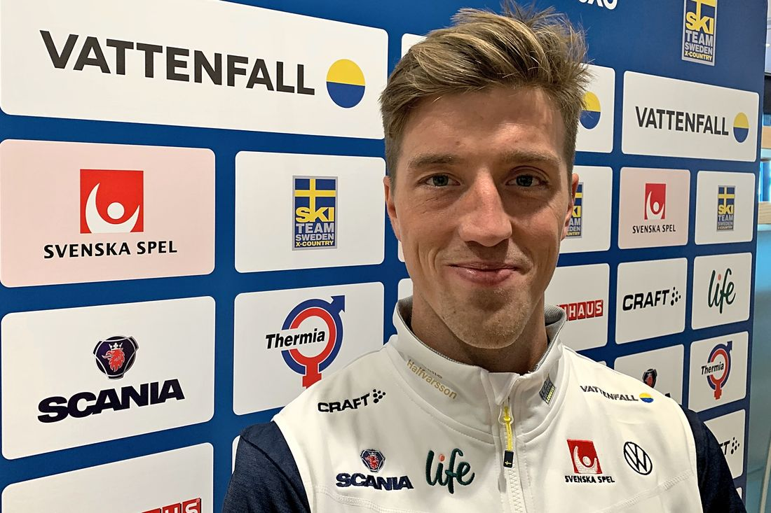 Calle Halfvarsson siktar på toppform till Tour de Ski och ska inte bränna bort formen på försäsongen i vinter. FOTO: Johan Trygg/Längd.se.